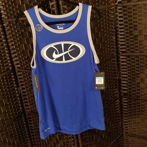Nike blue dri fit tank top